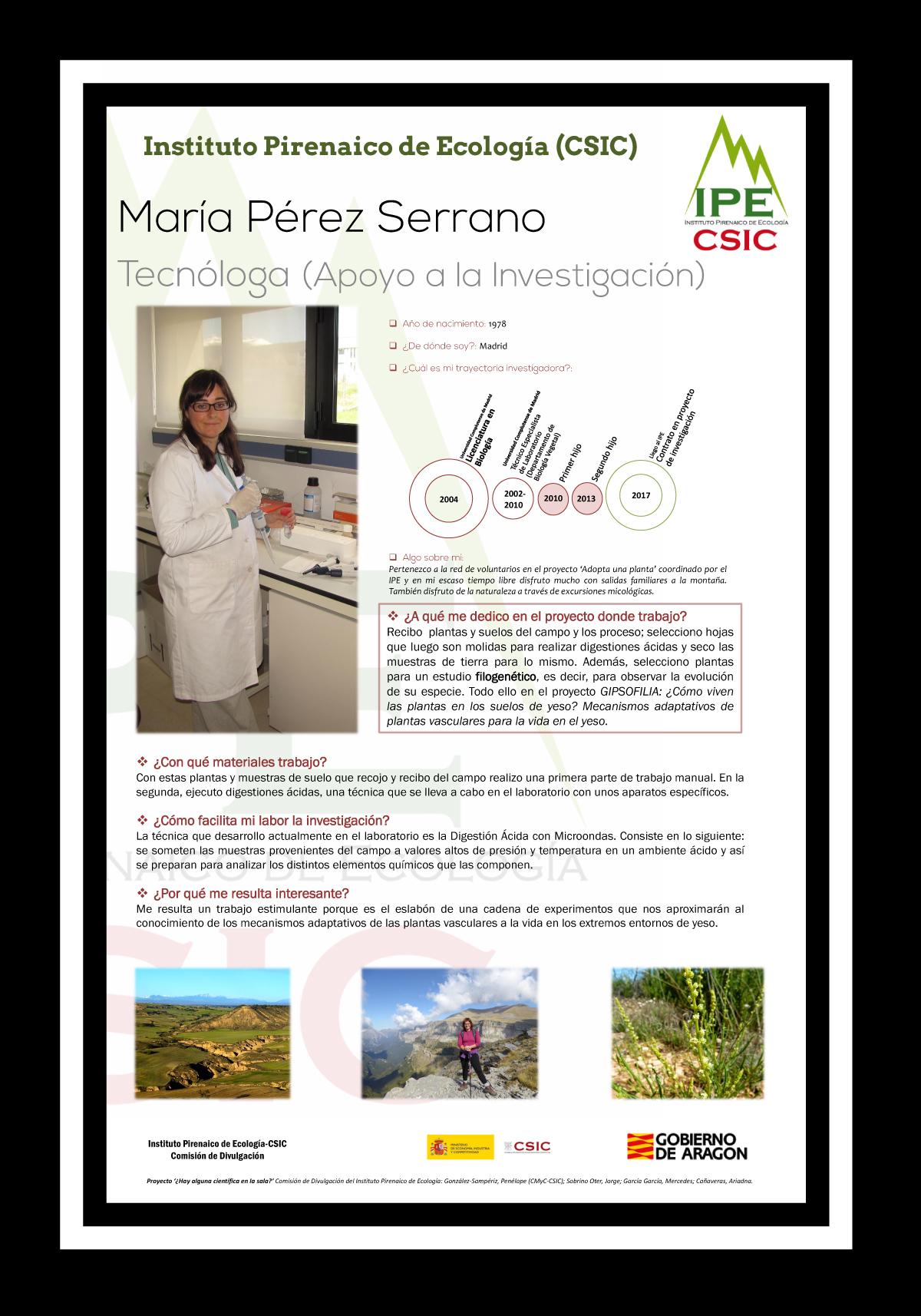 María Pérez Serrano