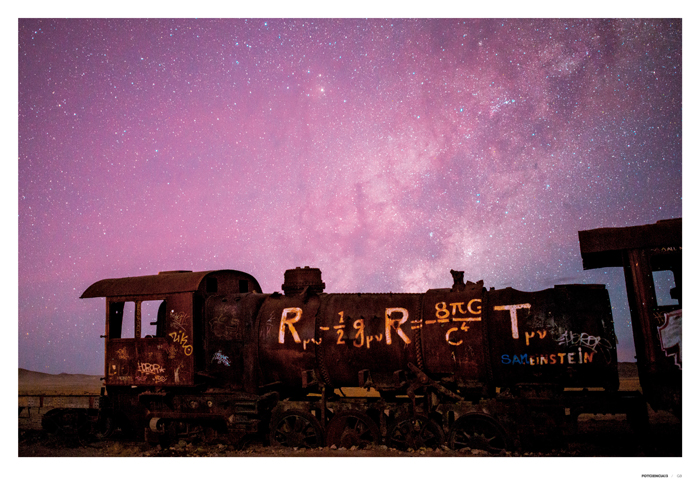 El tren de Einstein - 100 años de relatividad general