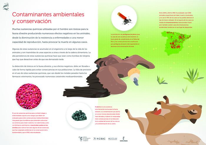 Contaminantes ambientales y conservación