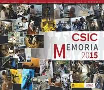 memoria CSIC 2015