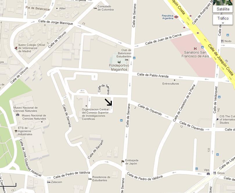 mapa vria