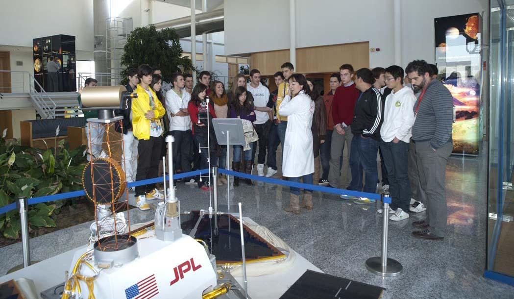 visita al Centro de Astrobiología