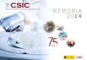 memoria CSIC 2014