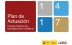 logo plan de actuacion 2014-2017 csic